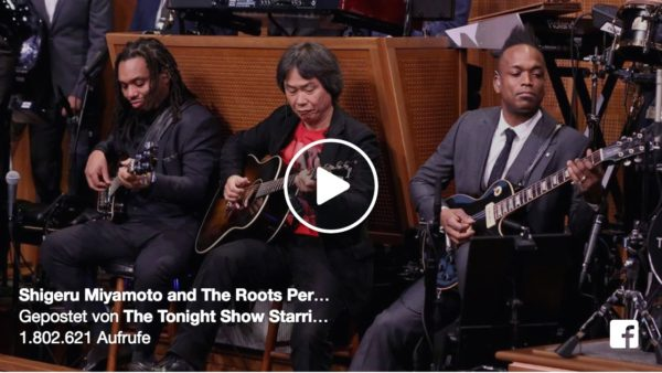 The Roots x Shigeru Miyamoto - Super Mario Bros Theme