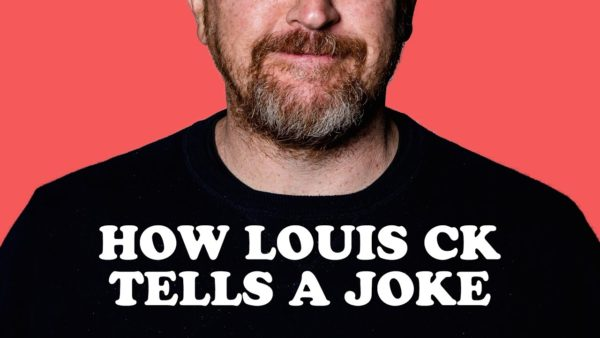 How Louis C.K. tells a Joke (Visual Essay)