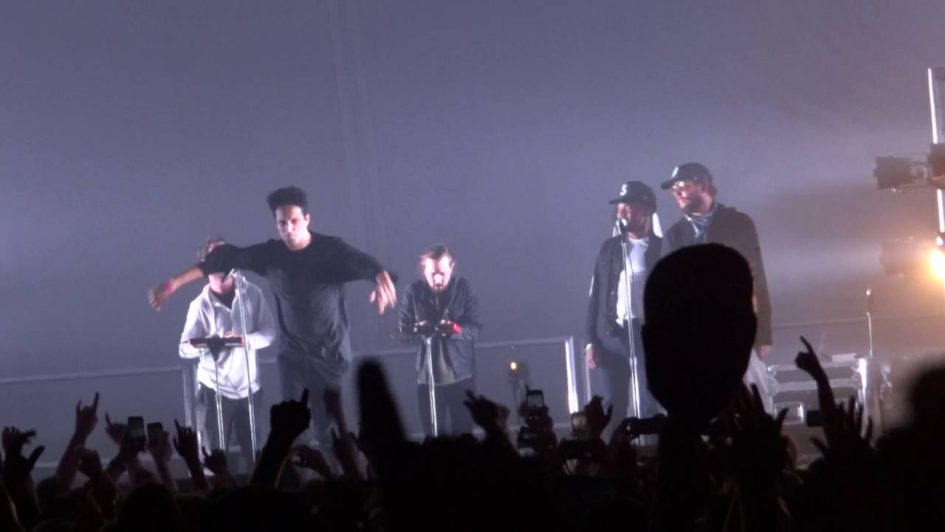 Francis And The Lights, Chance The Rapper & Justin Vernon – Friends (Live At Eaux Claires)